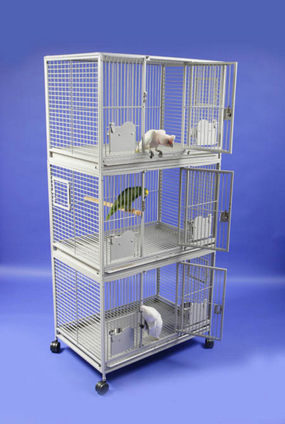 Breeder's Delight Triple Deck Cage