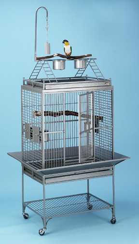 Click to see the Chiquita Playtop Parrot Cage