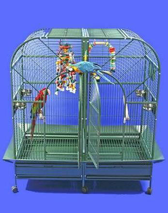Double Macaw Parrot Cage