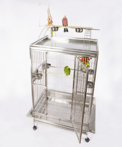 Macaw Mansion Playtop Bird Cage