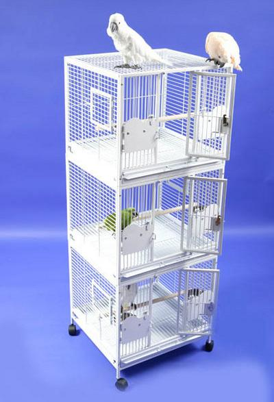 Triple Stack Breeder Cage