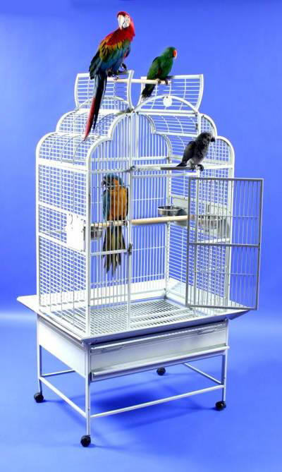 "Victorian Retreat 32""x23"" Flip-Top Bird Cage"